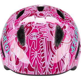 Giro Scamp Helm Kinder pink flower land